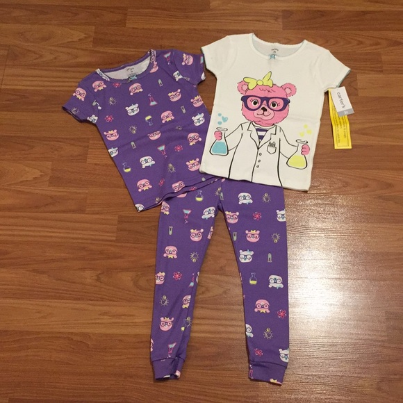 Carter's Other - NWT/NWOT Carters  Pajama Tops And Bottom